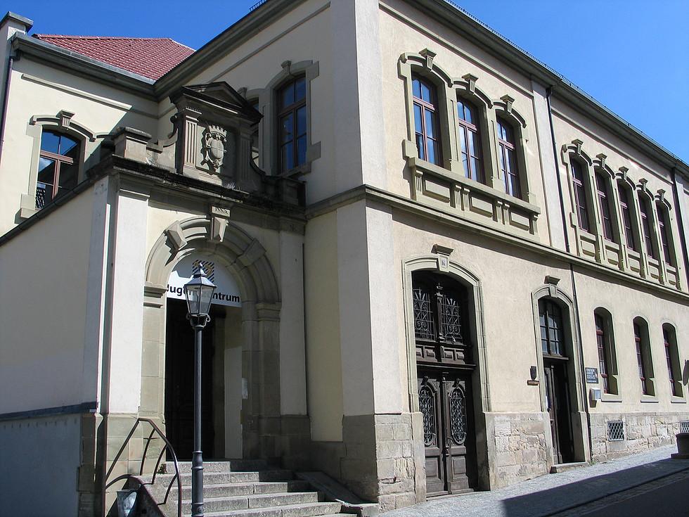 Schulhaus in der Kaufhausstraße (heutiger Zustand)